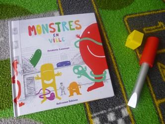 Monstres en ville - Balivernes - Les lectures de Liyah