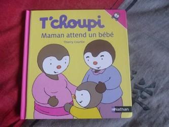 T'choupi Maman attend un bébé - Nathan - Les lectures de Liyah