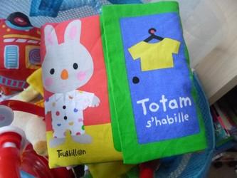 Totam s'habille - Tourbillon - Les lectures de Liyah