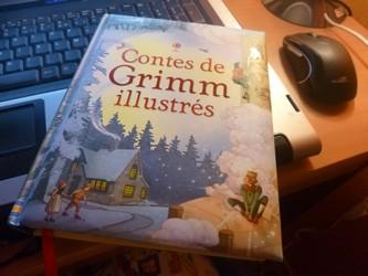 Contes de Grimm - Usborne - Les lectures de Liyah
