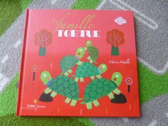 La famille tortue - Didier - Les lectures de Liyah