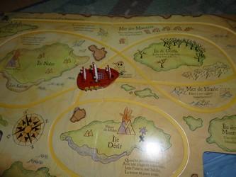 Le bateau pirate 1 - Usborne - Les lectures de Liyah