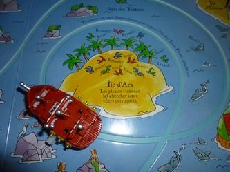 Le bateau pirate 2 - Usborne - Les lectures de Liyah
