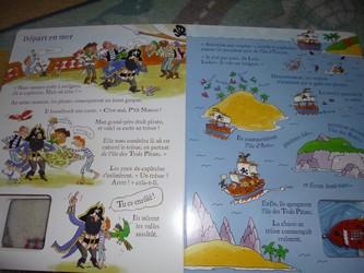 Le bateau pirate 3 - Usborne - Les lectures de Liyah
