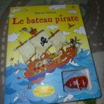 Le bateau pirate - Usborne - Les lectures de Liyah