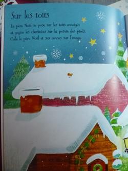 Le pere noel 1 - Usborne - Les lectures de Liyah