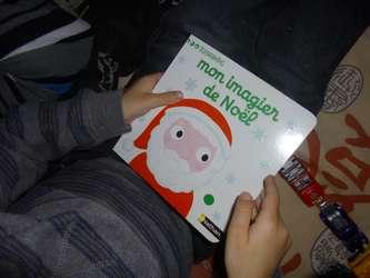 Mon imagier de Noël - Nathan - Les lectures de Liyah