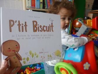 P'tit Biscuit - Didier - Les lectures de Liyah