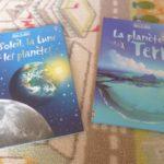 Soleil, planète terre - Usborne - Les lectures de Liyah