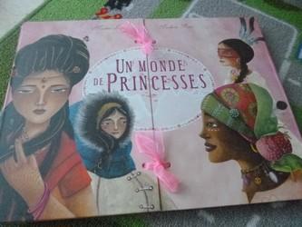 Un monde princesses - Martinière - Les lectures de Liyah