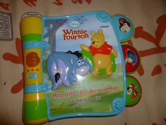 Winnie l'ourson livre des découvertes - Les lectures de Liyah