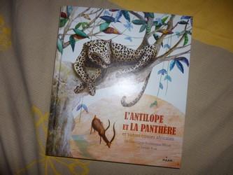 L'antilope et la panthère - Milan - Les lectures de Liyah