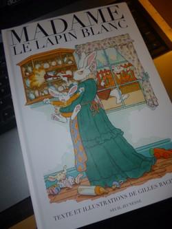 Madame le lapin blanc - Seuil - Les lectures de Liyah
