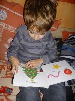 Mon imagier de Noël 1 - Nathan - Les lectures de Liyah
