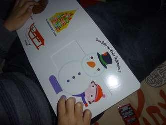 Mon imagier de Noël 3 - Nathan - Les lectures de Liyah