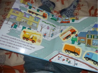 Camions et engins 1 - Usborne - Les lectures de Liyah