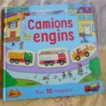 Camions et engins - Usborne - Les lectures de Liyah