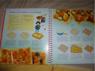 La cuisine des enfants 1 - Usborne - Les lectures de Liyah
