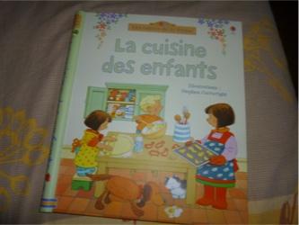 La cuisine des enfants - Usborne - Les lectures de Liyah
