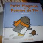Petit pingouin et pomme de pin - Seuil - Les lectures de Liyah
