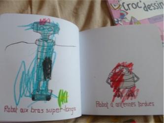 Croc dessin 3 - Nathan - Les lectures de Liyah