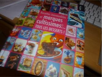 Marques cultissimes desserts - Hachette - Les lectures de Liyah