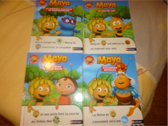 Maya - Nathan - Les lectures de Liyah