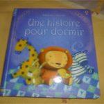 Une histoire pour dormir - Usborne - Les lectures de Liyah