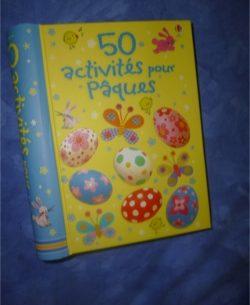 50 activités pour Pâques - Usborne - Les lectures de Liyah
