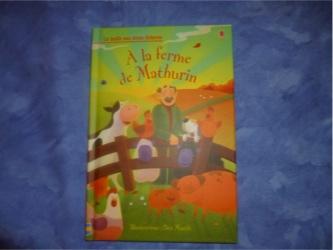 A la ferme de Mathurin - Usborne - Les lectures de Liyah