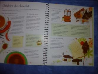 Desserts au chocolat pour les enfants 1 - Usborne - Les lectures de Liyah