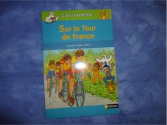 Gafi Sur le tour de France - Nathan - Les lectures de Liyah