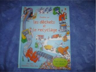Les déchets et le recyclage - Usborne - Les lectures de Liyah
