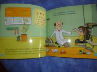 Les lunettes 1 - Milan - Les lectures de Liyah