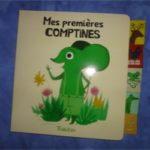 Mes premières comptines - Tourbillon - Les lectures de Liyah