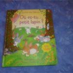 Où es tu petit lapin - Usborne - Les lecturs de Liyah