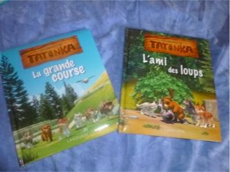 La légende des Tatonka Albums - Larousse - Les lectures de Liyah