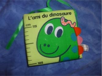 L'ami du dinosaure - Tourbillon - Les lectures de Liyah