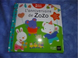 L'anniversaire de Zozo - Hatier - Les lectures de Liyah