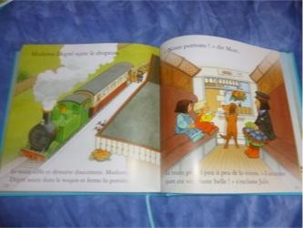Le grand livre de  la ferme 1 - Usborne - Les lectures de Liyah