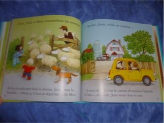 Le grand livre de  la ferme 2 - Usborne - Les lectures de Liyah
