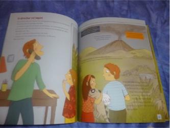 Le volcan se réveille 3 - Petite Plume - Les lectures de Liyah