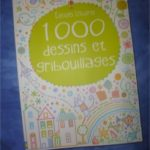 1000 dessins et gribouillages - Usborne - Les lectures de Liyah