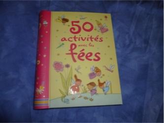 50 activités avec les fées - Usborne - Les lectures de Liyah