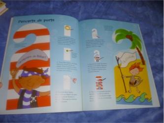 Activités avec les pirates 1 - Usborne - Les lectures de Liyah