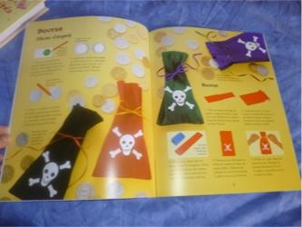 Activités avec les pirates 2 - Usborne - Les lectures de Liyah