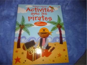 Activités avec les pirates - Usborne - Les lectures de Liyah