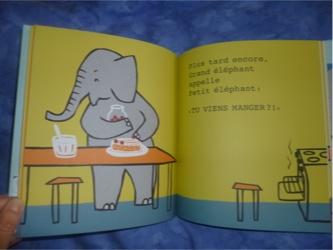 Attends petit éléphant 1 - Pastel - Les lectures de Liyah