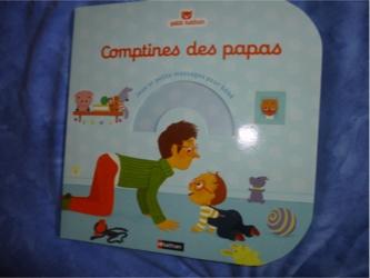Comptines des papas - Nathan - Les lectures de Liyah