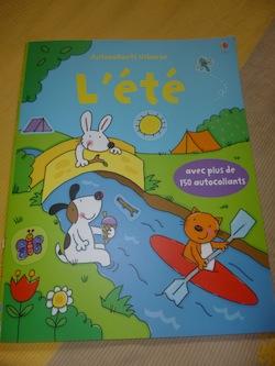 L'été - Usborne - Les lectures de Liyah
